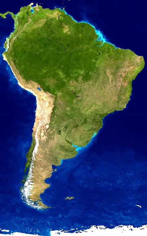 maps  south america  south american countries