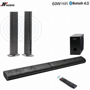 60w 3d Home Theater Tv Soundbar Bluetooth Speakers