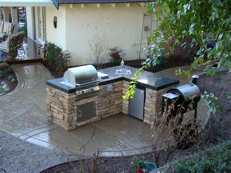 Outdoor Barbeque Designs Area Kitchentoday