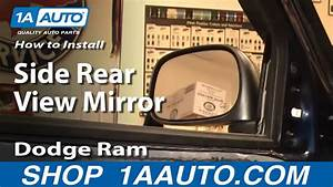 How To Replace Side View Mirrors 02
