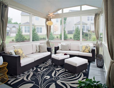 Porch Furniture by Sun Porch Furniture Sunroom Traditional With Baseboard