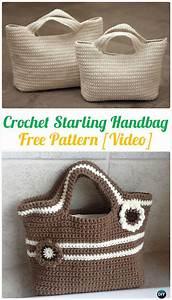 Crochet Handbag Free Patterns  U0026 Instructions