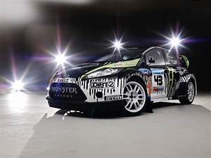 Ken Block Snow Drifts His New Ford Fiesta Rally Car Car