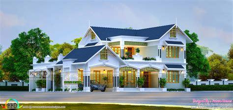 beautiful  bedroom mix roof kerala home design kerala