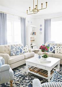 A, Blue, And, White, Living, Room, With, Extra, Sparkle