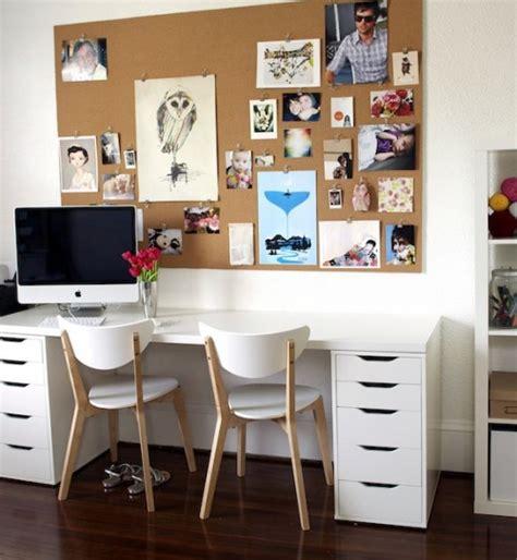 deco bureau idee decoration bureau blanc guest room