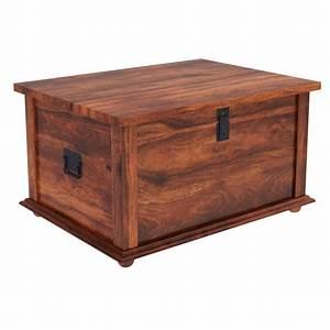 rustic primitive solid wood storage trunk coffee table new With rustic wood coffee table with storage
