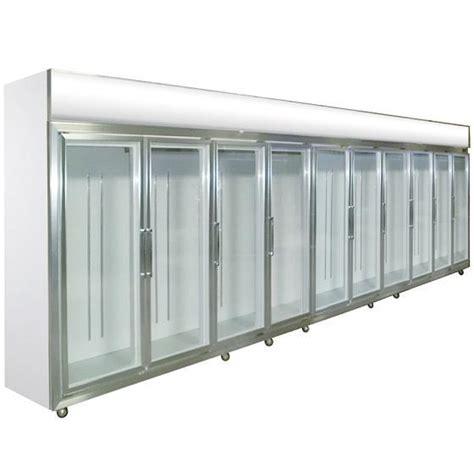 glass sliding door refrigerator 0 10 degree fan cooling