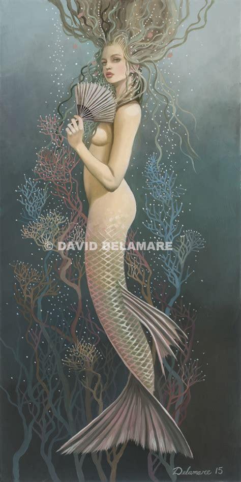 Original David Delamare Art