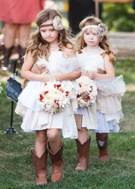 picture  flower girl outfits  country weddings