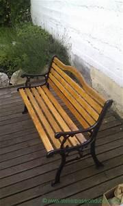 Banquette Bois Exterieur : restaurer banc jardin atelier passion du bois ~ Farleysfitness.com Idées de Décoration