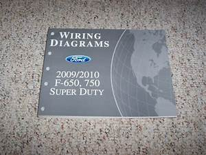 2009 Ford F750 Electrical Wiring Diagram Manual 6 7l 6 8l