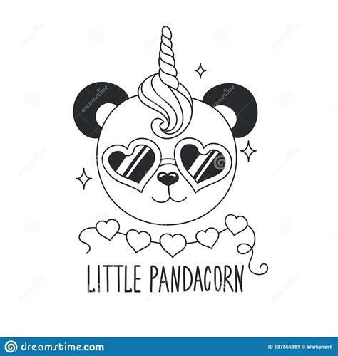 coloring panda  umbrella stock photography