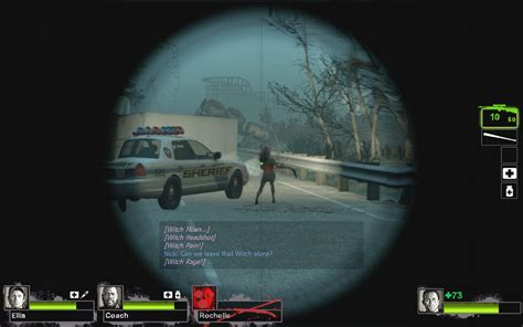 custom crosshairs left  dead  gui mods