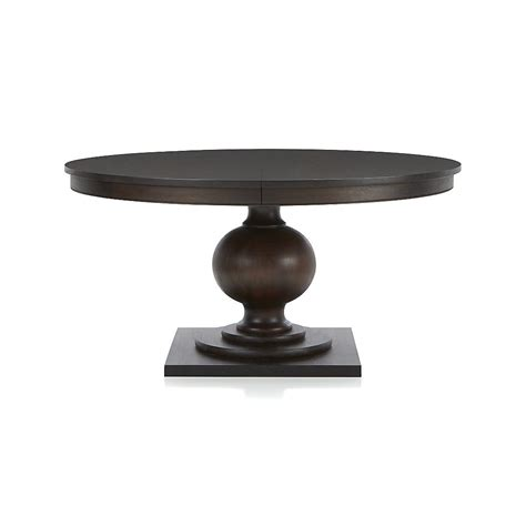 shop winnetka   dark mahogany extendable dining