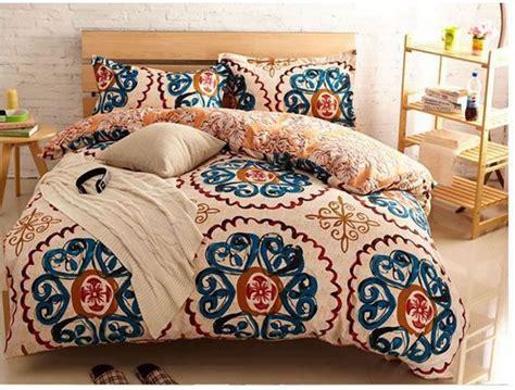 vintage bed set yellow blue vintage bedding comforter sets king size