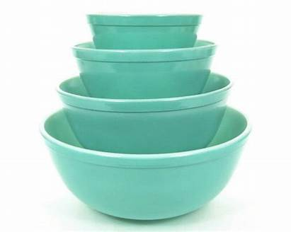 Turquoise Bowls Batter