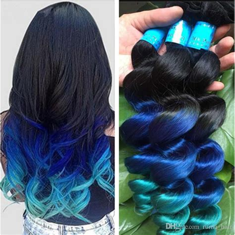 2019 New Arrive Ombre Loose Wave Hair Extensions Three