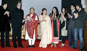 The Bachchans Unveil The Book With Amjad Ali Khan And ...