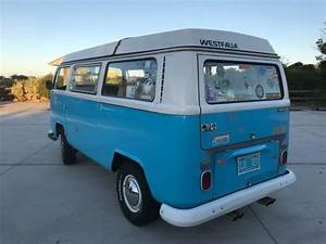1969 Vw Bus Westfalia Camper Van For Sale