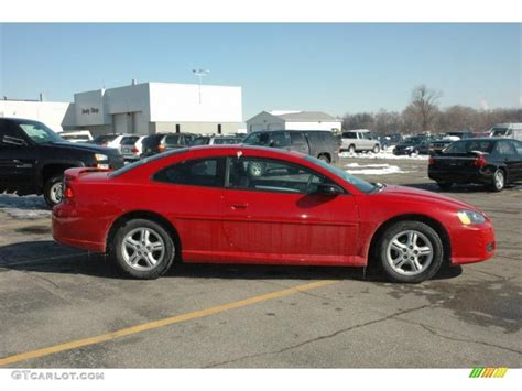 Inferno Red Pearlcoat 2004 Dodge Stratus Sxt Coupe