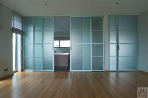 le de bureau led design portes coulissantes en verre sur mesure anyway doors