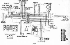 Honda Sl100 Wiring Schematic - 4-stroke Net
