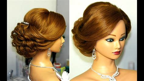Hairstyles For Hair Updo by Bridal Updo Hairstyle For Medium Hair