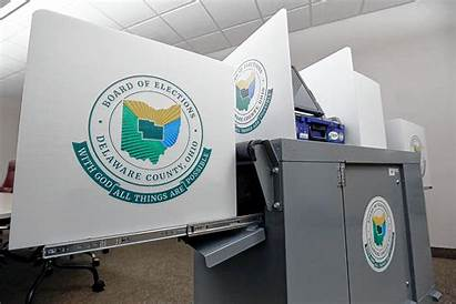 Voting Machines Delaware Oh County