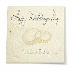 wedding card happy wedding day gbp425 giftbagshopcouk With images of wedding day cards