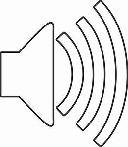 sound icon clip art cliparts With working of speakers