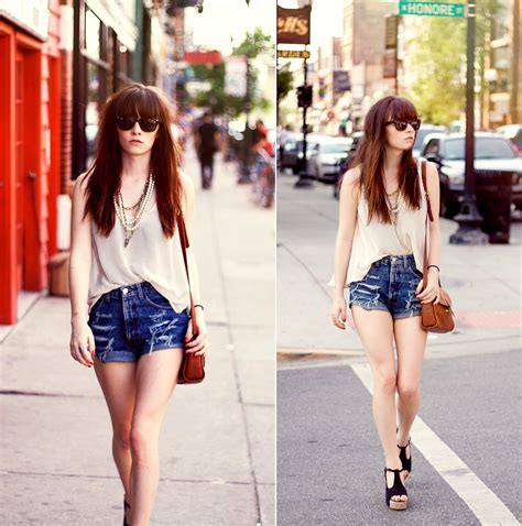 Style InspirationHigh-Waisted Shorts