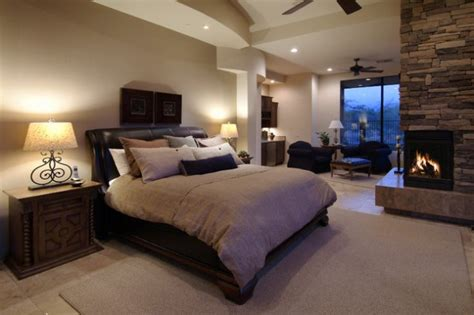 gorgeous master bedroom designs  beautiful fireplace