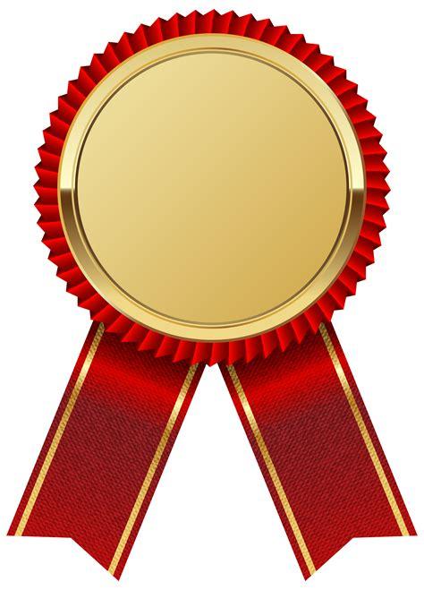 Ribbon Clip Gold Medal With Ribbon Png Clipart Image Ribbony