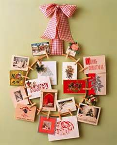 something old something new decorating with christmas cards your design partner llc