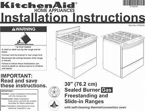 Kitchenaid Superba Selectra Owners Manual