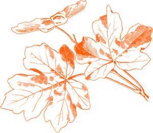 Vintage Autumn Leaves Graphics