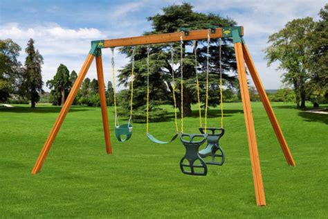 Kid Swing Set by Classic Jungle Gyms Ma Ri Eastern Jungle Swingsets