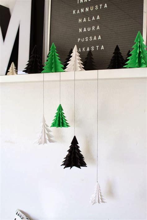 weohmschtsbaum dekoration selsbt mschen diy weihnachtsbaum origami deko die jeder selbst machen kann und die trotzdem sehr