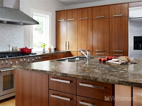 how high should kitchen cabinets be from countertop this beautiful kitchen features our new wilsonart hd