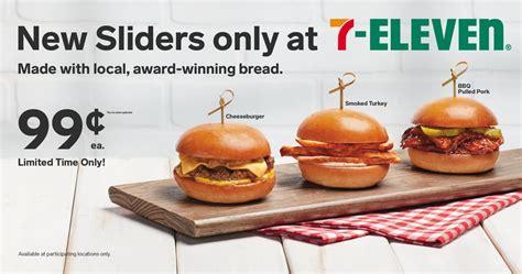 eleven adds sliders  hot foods menu  dfw  love ftw
