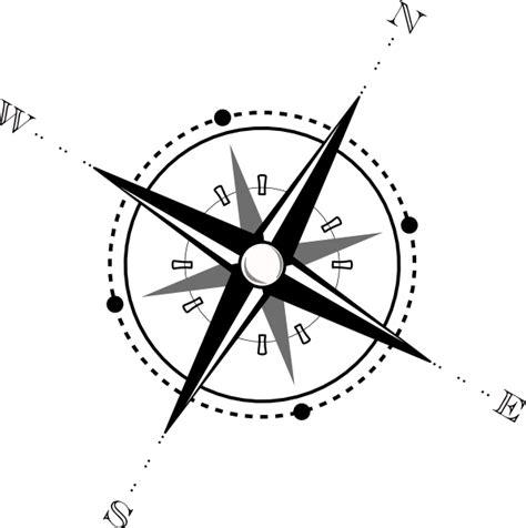 compass black and white black and white compass clip at clker vector