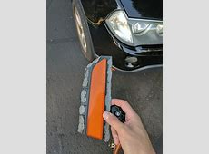 repair Is this the proper way to fix a front reflector