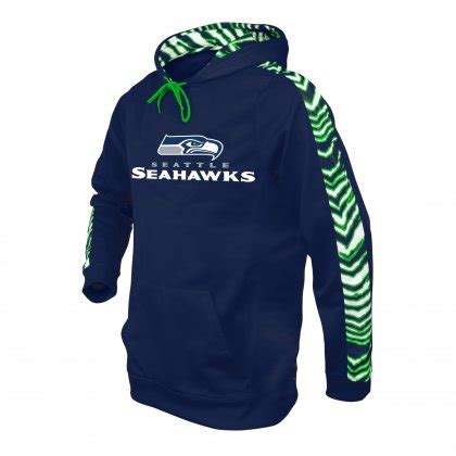 seattle seahawks zebra hoodie navy blueaction green