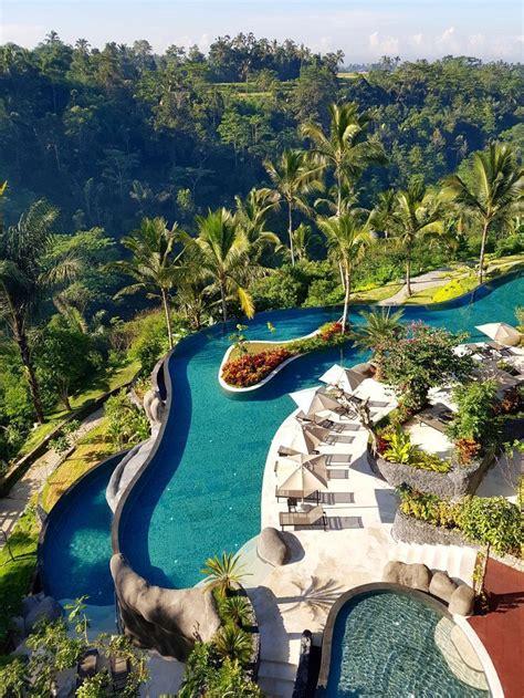 balis longest infinity pool  padma resort ubud resort