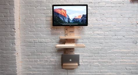 space saving standing desk space saving standing desk that holds all the things you