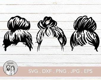 | view 82 messy bun illustration, images and graphics from +50,000 possibilities. Back to School Clipart fashion girl clipart planner ...