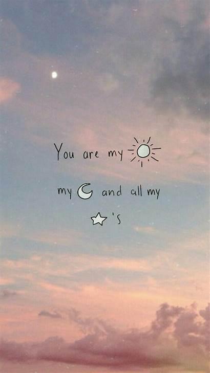 Quotes Moon Sun Stars Sunshine Quote Words