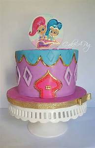 Shimmer And Shine - CakeCentral com