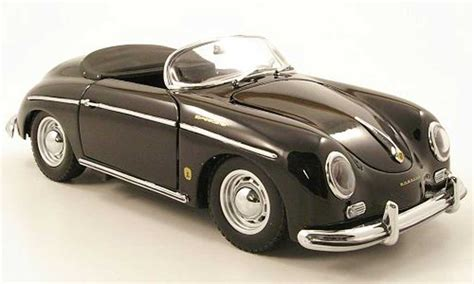porsche model car porsche 356 a speedster black kyosho diecast model car 1